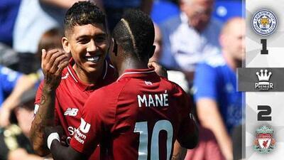 ¡Paso perfecto!: Liverpool vence al Leicester City y suma cuatro triunfos al hilo