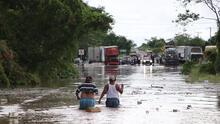 Bajo el fango, así quedó Nayarit por el desbordamiento de un río a causa del huracán Willa