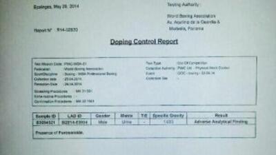 Guillermo Jones recibió confirmación de doping positivo