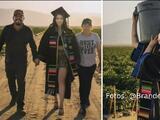 """""""Aprendí lo que es el trabajo difícil"""": Hispana se gradúa de la universidad y regresa al campo para agradecer a sus padres"""
