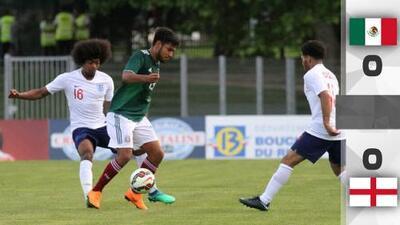 Tri Sub 21 empató con Inglaterra en segundo partido de Toulon