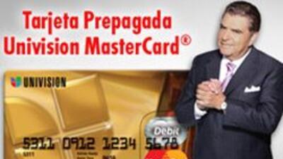 Tarjeta Prepagada Univision MasterCard®