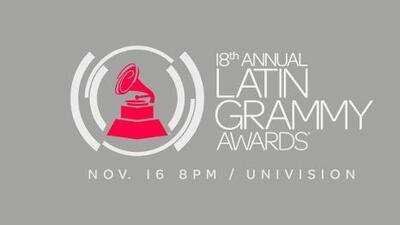 Lista completa de los nominados a los premios Latin GRAMMY 2017