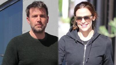 Ben Affleck y Jennifer Garner fueron vistos besándose