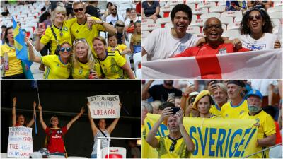 Con la ilusión del tercer puesto, así se vivió la previa entre Inglaterra y Suecia en el Mundial Femenino