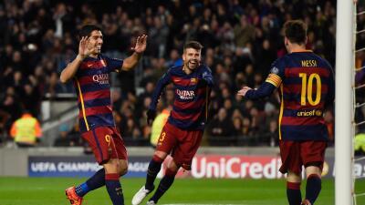 Barcelona 6-1 Roma: Messi, como en su mejor nivel, comandó la goleada sobre la Roma