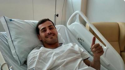 Iker Casillas podría quedarse en el Porto aunque colgara los guantes