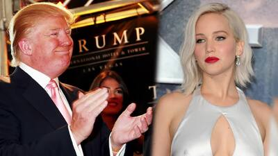 Jennifer Lawrence opina sobre Donald Trump