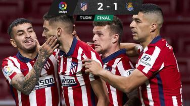 Atlético de Madrid sí hace la tarea y se afianza en la cima