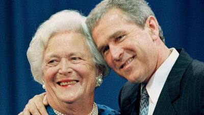 """George W. Bush tras la muerte de su madre, Barbara: """"Era una primera dama fabulosa y una mujer como ninguna"""""""