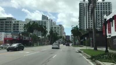 Un recorrido visual por algunas de las zonas más afectadas de Miami