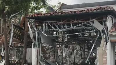 Explosión en centro comercial de Florida podría haber sido por una fuga de gas