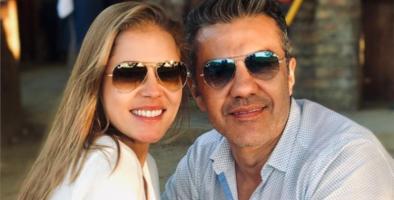 Adrián Uribe y Thuany Martins revelan el rostro y nombre de su bebé