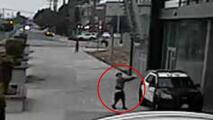 Así se logró la captura del sospechoso de dispararles a dos oficiales en California