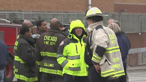 Incendio obliga la evacuación de 200 empleados en una fábrica de chocolates de Chicago