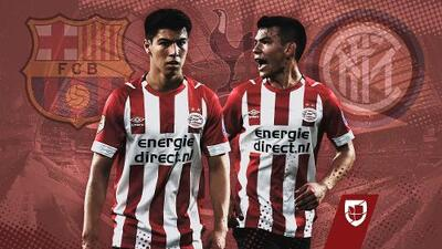 "El PSV de 'Chucky' y 'Guti', al ""Grupo de la Muerte""; Porto corrió con suerte"