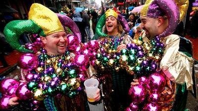 Te explicamos cómo surgió el Mardi Gras, la fiesta de carnaval más emblemática de Nueva Orleans