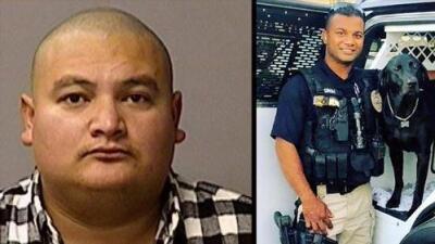 Presentan cargos de asesinato al indocumentado acusado de matar a un policía en California
