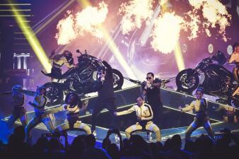 Wisin y Yandel regresan a Premio Lo Nuestro 2018 en motos Ducati
