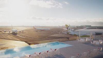 Inauguran el TWA Hotel en el Aeropuerto Internacional JFK en Nueva York