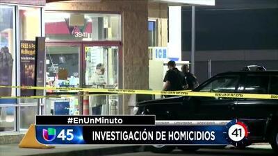 En Un Minuto Houston: Investigan la muerte de dos personas que fueron baleadas en el estacionamiento de un concurrido restaurante