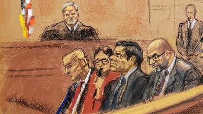 Estos fueron los cinco testigos clave en el juicio en contra de 'El Chapo'