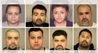 Múltiples arrestos a presuntos miembros de pandillas con conexiones en México durante operativo en California
