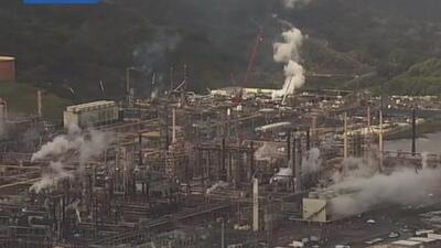 Apagones provocan alerta por llamaradas en refinería de Richmond