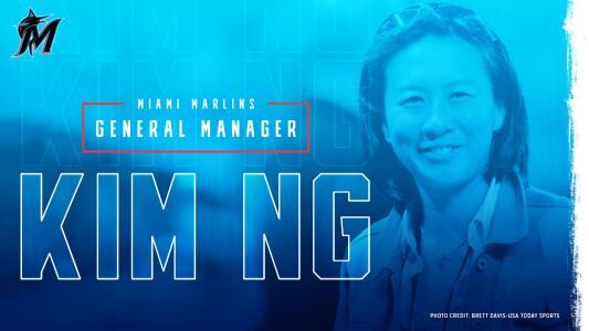¡Histórico! Una mujer será la gerente general de los Marlins