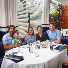 Paulina Goto ya convive con el hijo y la familia de Horacio Pancheri