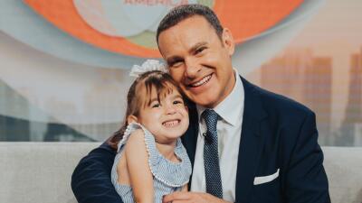 La hija de Alan Tacher robó cámara al sorprender a su papito en el show (fotos)