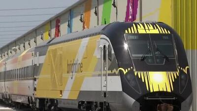 'Miami en un Minuto': Brightline inicia servicio introductorio entre Fort Lauderdale y West Palm Beach