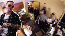 Se armó una bronca en el camerino de J Balvin por una broma pesada que salió mal