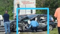 """""""Caí de rodillas y comencé a orar"""": el testimonio del agente Leví Rivera, tras emotiva foto publicada en redes"""