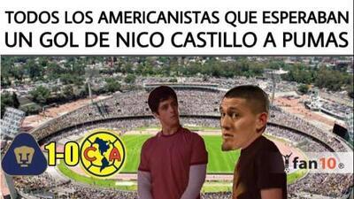 Los memes que dejó la victoria de Pumas sobre América en el Clásico Capitalino