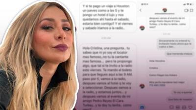 Ex de Esteban Loaiza acusa a un locutor de proponerle prostituirse con él