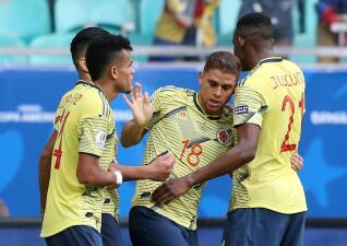En fotos: Colombia supera con equipo alterno a Paraguay y lo deja al borde de la eliminación
