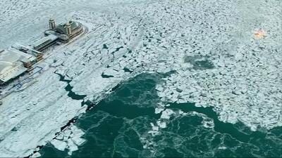Las impresionantes imágenes de Chicago congelado por la ola de frío extremo