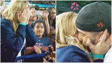 Jugador de los Astros le propone matrimonio a su novia tras ganar la serie mundial