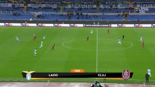 Highlights: CFR Cluj at SS Lazio on November 28, 2019