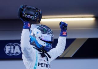 En fotos: la intensidad en el triunfo de Valtteri Bottas en el GP de Azerbaiyán en F-1