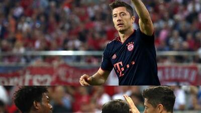 ¡Bayern da la vuelta y vence a Olympiacos 3-2!