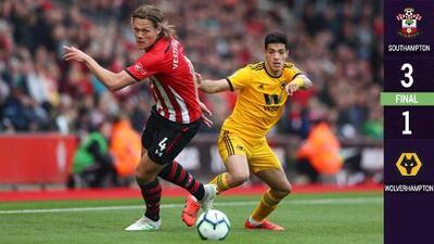 Wolverhampton de Raúl Jiménez fue emboscado y cayó en Southampton