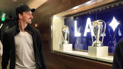 Como un león hambriento: Zlatan Ibrahimovic se declara listo para jugar el derbi angelino