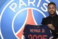 Oficial: Neymar renueva con el PSG hasta el 2025