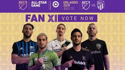 Comienza la votación para los aficionados: ya puedes decidir quiénes estarán en el MLS All-Star Game