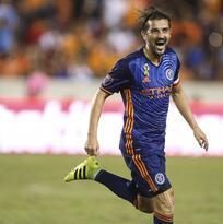 """""""Para New York City será una gran prueba"""", dijo David Villa antes del amistoso ante Emelec"""