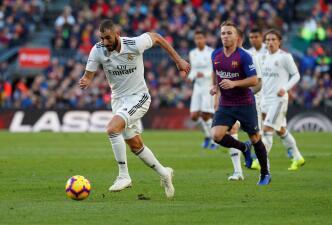 Tres duelos contra el Barcelona en un mes decisivo para Santiago Solari y el Real Madrid