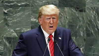 """Trump defiende ante la ONU su política migratoria y advierte que quien cruce la frontera sin documentos """"será devuelto inmediatamente"""""""
