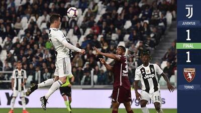 'Jumpman' Cristiano Ronaldo rescató a Juventus de perder ante Torino